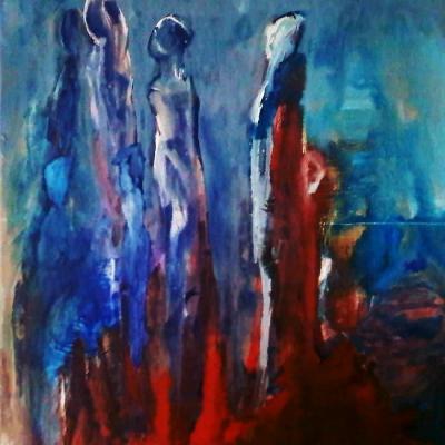 Paintings on canevas